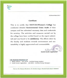 Green Audit(Certificate)